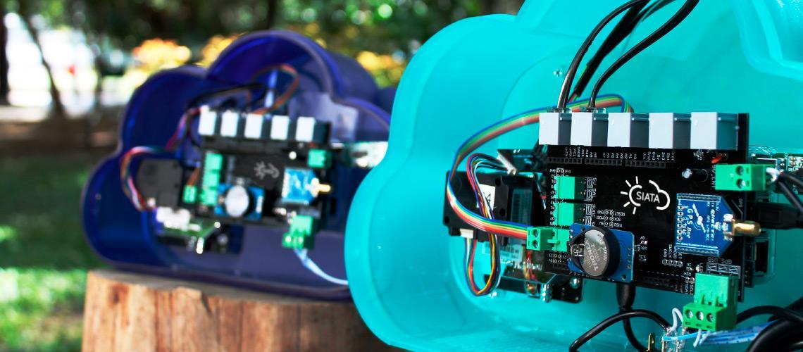 Sensor para medir la calidad del aire