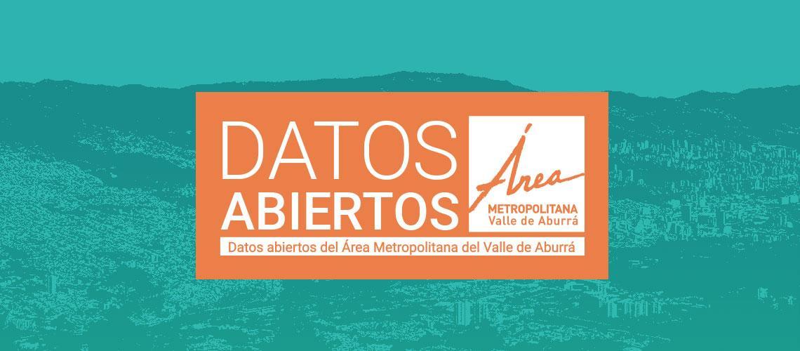 Datos Abiertos del Área Metropolitana del Valle de Aburrá